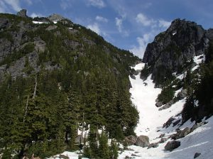 """First view of """"The Gully"""""""