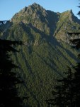 """Looking across at Merchant Peak from """"The Slog"""""""
