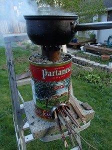 Fancy rocket stove