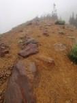 Hiking up the hogsback